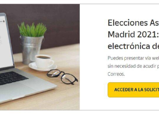 elecciones voto correo