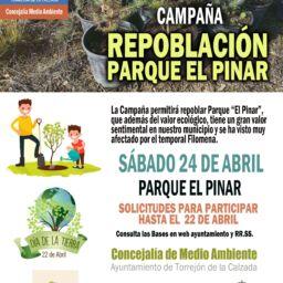 Campaña Repoblación Parque el Pinar